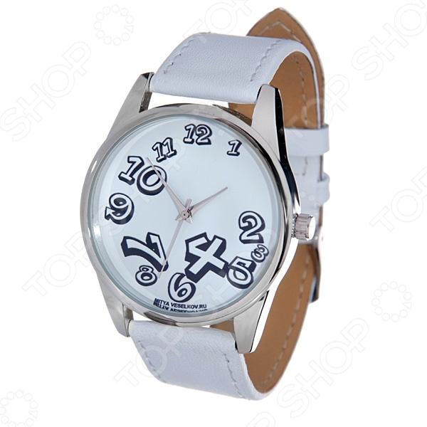 Часы наручные Mitya Veselkov «Нет времени» MV.White