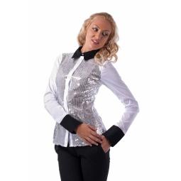 фото Блузка Mondigo 9614. Цвет: белый. Размер одежды: 46