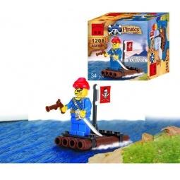 фото Конструктор игровой Brick «Пиратский плот» 1717074