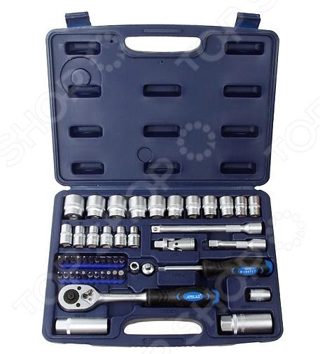 Набор с торцевыми головками и битами Apelas CS-3050PMQ-6  набор инструмента apelas cs 2053pmq 1 4 dr