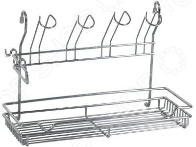 Сушилка для посуды Rosenberg 6842Сушилки для посуды<br>Сушилка для посуды Rosenberg 6842 удобное приспособление как для сушки, так и хранения посуды. Если вы не любите вытирать тарелки полотенцем после мытья, то данная сушилка создана именно для вас. Корпус изделия изготовлен из металла. Подвесная конструкция рейлинг не включен в комплект поставки .<br>