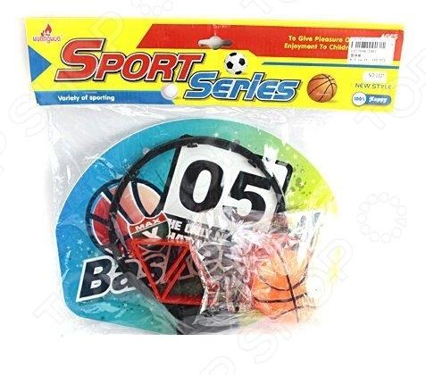 Набор для игры в баскетбол Shantou Gepai 3301Спортивные игры<br>Набор для игры в баскетбол Shantou Gepai 3301 станет отличным приобретением для юного спортсмена. С ним у малыша появится возможность попробовать себя в роли профессионального баскетболиста и отработать различные спортивные приемы. Занятия баскетболом способствуют развитию выносливости, скорости реакции и физической силы. В набор входит мяч и баскетбольный щит.<br>
