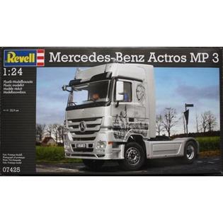 Купить Сборная модель тягача Revell 07425R «Mercedes-Benz Actros MP3»