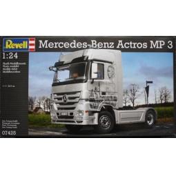 фото Сборная модель тягача Revell 07425R «Mercedes-Benz Actros MP3»