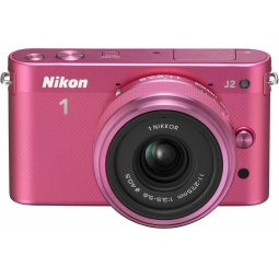 фото Фотокамера цифровая Nikon 1 J2 Kit 11-27.5mm VR. Цвет: розовый