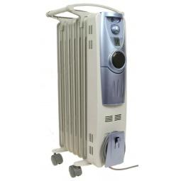 фото Радиатор масляный Polaris PRE E 0715 H. Цвет: белый, синий