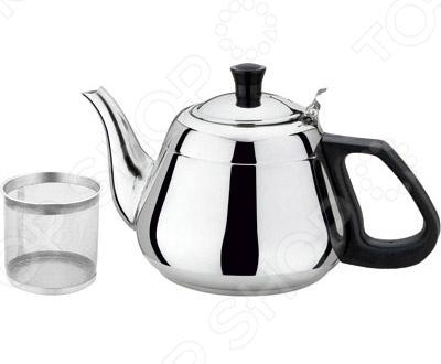 Чайник металлический Bekker BK-S502Чайники со свистком и без свистка<br>Чайник металлический Bekker BK-S502 изготовлен из высококачественной нержавеющей стали. Корпус из стали долговечен, не подвергается коррозии и обладает антиаллергенными свойствами. Внутренняя сеточка для заварки также выполняет функцию фильтра, который задержит чаинки. Изящная форма чайника и зеркально отполированная поверхность придают ему эстетичности на столе. Ручка модели фиксированная и изготовлена из бакелита. Широкое цельнометаллическое дно распределяет тепло равномерно по всей поверхности, что обеспечивает быструю скорость закипания воды и устойчивость изделия. Герметичная крышка не пропускает пар, поэтому вода долго остается горячей. Заварите крепкий, ароматный чай в представленной модели, и вы получите заряд бодрости, позитива и энергии на весь день! Классическая форма и использованная цветовая гамма изделия, позволят наслаждаться любимым напитком в атмосфере еще большей гармонии, эмоциональной наполненности и добавят нотку романтичности. С чайником Bekker BK-S502, вы всегда будете наслаждаться чистым, ароматным чаем со своими родными и близкими.<br>