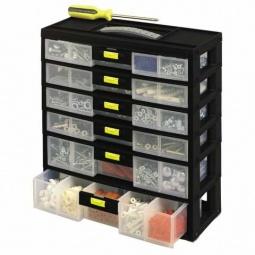 Купить Органайзер STANLEY вертикальный с выдвижными секциями Pack'n Latch