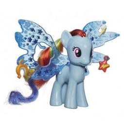 фото Фигурка для девочки Hasbro «Пони Рейнбоу Дэш Делюкс с волшебными крыльями»