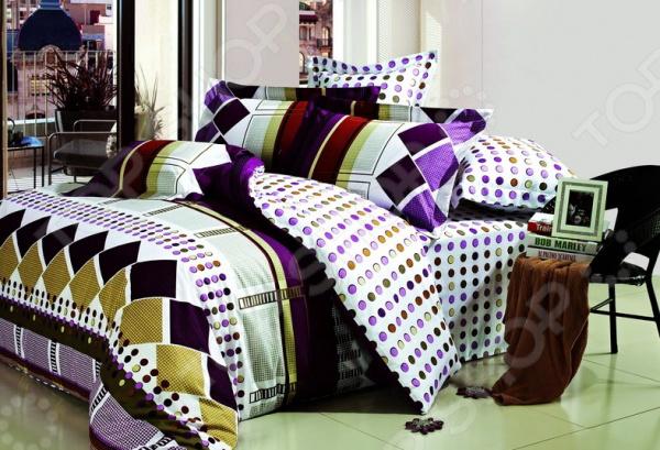 Комплект постельного белья BegAl ВТ002-А756. 2-спальный2-спальные<br>Комплект постельного белья BegAl ВТ002-А756 это удобное постельное белье, которое подойдет для ежедневного использования. Чтобы ваш сон всегда был приятным, а пробуждение легким, необходимо подобрать то постельное белье, которое будет соответствовать всем вашим пожеланиям. Приятный цвет, нежный принт и высокое качество ткани обеспечат вам крепкий и спокойный сон. Ткань поплин, из которого сшит комплект отличается следующими качествами:  достаточно мягка и приятна на ощупь, не имеет склонности к скатыванию, линянию, протиранию, обладает повышенной гигроскопичностью, практически не мнется, не растягивается, не садится, не выгорает, гипоаллергенна, хорошо отстирывается и не теряет при этом своих насыщенных цветов;  современная фотопечать прекрасно передаёт цвет и мельчайшие детали изображения;  за счёт специального переплетения волокон ткань устойчива к механическим воздействиям. Ткань устойчива к механическим воздействиям. Перед первым применением комплект постельного белья рекомендуется постирать. Перед стиркой выверните наизнанку наволочки и пододеяльник. Для сохранения цвета не используйте порошки, которые содержат отбеливатель. Рекомендуемая температура стирки: 40 С и ниже без использования кондиционера или смягчителя воды.<br>