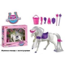 фото Набор игровой для девочки Shantou Gepai «Лошадка для принцессы с аксессуарами»