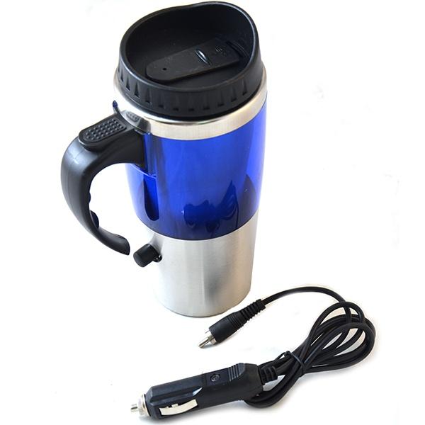 Термокружка автомобильная Кружка автомобилиста 31 ВЕК GD-T150Все для чая и кофе<br>Термокружка автомобильная Кружка автомобилиста 31 ВЕК GD-T150 - замечательная кружка, с помощью которой можно всегда приготовить горячий чай или кофе, не выходя из машины. Вместительная кружка для ароматного напитка согреет и подарит хорошее настроение в любую погоду. Специальная конструкция с двойными стенками позволит сохранить тепло напитка в течение длительного времени. Современный дизайн кружки впишется в интерьер салона любого автомобиля.<br>