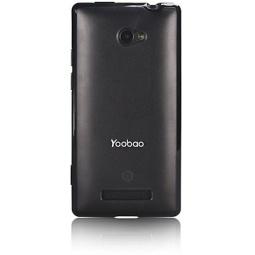 фото Чехол и защитная пленка для HTC 8X Yoobao Protective Case. Цвет: черный