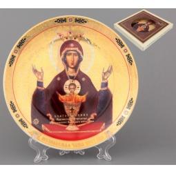 Купить Тарелка декоративная Elan Gallery «Пресвятая Богородица Неупиваемая Чаша»