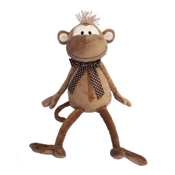 фото Мягкая игрушка Maxitoys «Обезьян Валерик с бантом». Размер: 20 см