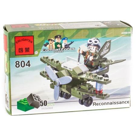 Купить Конструктор игровой Brick «Самолет» 804