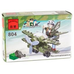 фото Конструктор игровой Brick «Самолет» 804