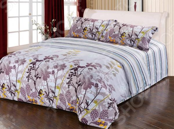 Комплект постельного белья Softline 10181. СемейныйСемейные<br>Комплект постельного белья Softline 10181 это удобное постельное белье, которое подойдет для ежедневного использования. Чтобы ваш сон всегда был приятным, а пробуждение легким, необходимо подобрать то постельное белье, которое будет соответствовать всем вашим пожеланиям. Приятный цвет, нежный принт и высокое качество ткани обеспечат вам крепкий и спокойный сон. Сатин, из которой сшит комплект отличается следующими качествами:  100 натуральное хлопковое волокно;  высокая гигроскопичность и антибактериальные свойства;  высокая прочность и эластичность;  даже после многократных стирок не линяет и не теряет своих свойств. Постельное белье этой марки отличается экологически чистыми материалами и устойчивыми красителями. Что бы сохранить цвет и другие характеристики ткани, следует стирать при температуре 40 градусов, а так же выбирать щадящий режим сушки и отжима. Перед стиркой следует вывернуть пододеяльник и наволочки наизнанку. Стирать с постельным бельем из других видов тканей не рекомендуется во избежание потери качества.<br>