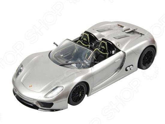 Машина на радиоуправлении GK Racer Series Porsche 918 Spyder. В ассортиментеМашинки, мотоциклы, квадроциклы радиоуправляемые<br>Товар продается в ассортименте. Вид изделия при комплектации заказа зависит от наличия товарного ассортимента на складе. Машина на радиоуправлении GK Racer Series Porsche 918 Spyder станет отличным подарком, который обязательно понравится не только детям, но и взрослым. Следует отметить высокую точность исполнения и внимание к деталям, ведь при создании игрушки ориентировались на модели реально существующих автомобилей. Все это также придает коллекционную ценность изделию. Возможность дистанционного управления добавляет еще больше разнообразия и веселья в игровой процесс.<br>