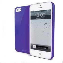 фото Чехол Muvit Glossy для iPhone 5. Цвет: пурпурный