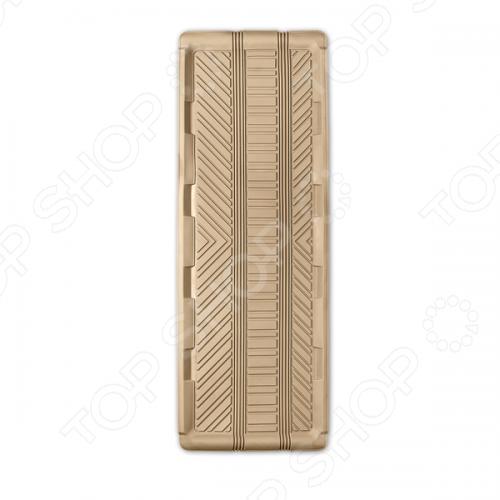 Коврик для заднего ряда Autoprofi TER-150LКоврики в салон<br>Коврик для заднего ряда Autoprofi TER-150L изготовлен из термопласта-эластомера, который характеризуется небольшим весом, отсутствием типичного для резины запаха и высокой износостойкостью. Данный материал сохраняет свою эластичность даже при экстремально низких температурах до -50 С и устойчив воздействию агрессивных веществ, таких как масло, топливо или дорожные реагенты. Удлинённый коврик-ванночка для заднего ряда предназначен для микроавтобусов, минивэнов и внедорожников. Увеличенная площадь и уникальная система поперечного сгибания коврика при перемещении заднего ряда сидений позволяет без затруднений использовать его в многоместных автомобилях с гладким полом.<br>