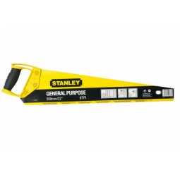 фото Ножовка STANLEY OPP. Общая длина: 500 мм. Количество зубьев на дюйм: 11