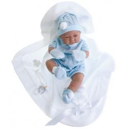 Купить Кукла-мальчик Munecas Antonio Juan «Тони в голубом»
