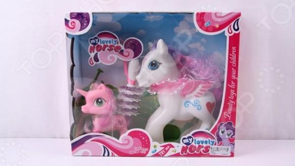 Набор игровой для девочки «Пони с аксессуарами»