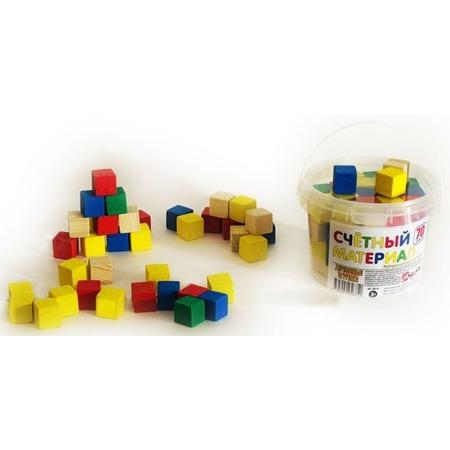 Купить Набор развивающий Русские деревянные игрушки «Кубики» Д013c