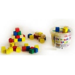фото Набор развивающий Русские деревянные игрушки «Кубики» Д013c