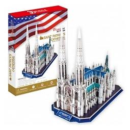 Купить Пазл 3D CubicFun «Собор Святого Патрика»