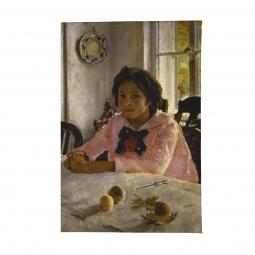 фото Обложка для паспорта Mitya Veselkov «Девочка с персиками В. Серов»
