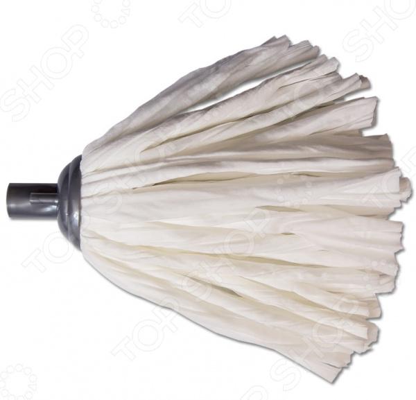 Насадка для швабры ленточная EUROTEX 080410-005Швабры и щетки<br>Насадка для швабры ленточная EUROTEX 080410-005 из нетканного материала, прекрасно справится с уборкой самых различных поверхностей от кафеля до ламината. Насадка прекрасно впитывает воду, не истирается и не теряет форму даже после многочисленного использования. Для отжима рекомендуется ведро со вставкой. Стирать вручную или в стиральной машине без использования кондиционера и отбеливателя. асадка крепится к швабре при помощи резьбы.<br>