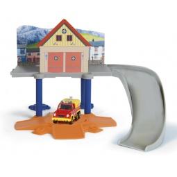 фото Набор игровой с машинкой Dickie «Маленький пожарный гараж»