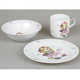 фото Набор посуды для детей Rosenberg 8765