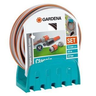 Купить Кронштейн настенный со шлангом Gardena Classic