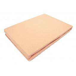 фото Простыня на резинке Tete-a-Tete «Лотос». Размер простыни: 90х200 см. Тип упаковки: коробка. Цвет: оранжевый