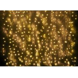 фото Гирлянда-занавес уличная Holiday Classics «Магия света». Высота: 2 м. Количество лампочек: 850