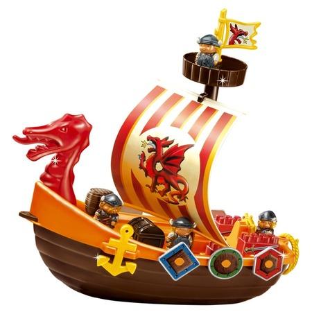 Купить Конструктор игровой Ecoiffier «Корабль викингов»