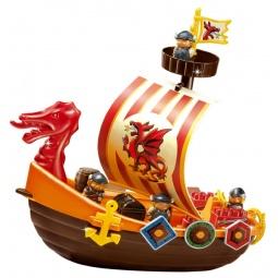 фото Конструктор игровой Ecoiffier «Корабль викингов»