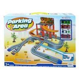 фото Набор игровой для гонок Shantou Gepai «Парковка с дорогой»