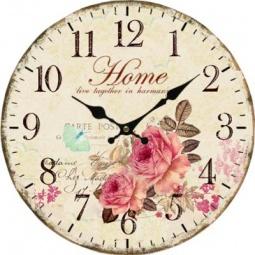 фото Часы настенные Irit «Розы»