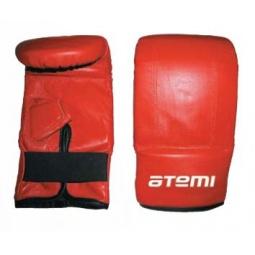 фото Перчатки снарядные ATEMI 03-006 красные. Размер: S