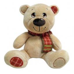 фото Мягкая игрушка Fluffy Family «Мишка Тепа с шарфом» 681150