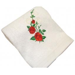 фото Полотенце подарочное с вышивкой TAC Roses