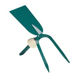фото Мотыжка садовая с прямым лезвием Raco. Количество зубцов: 2. Ширина рабочей части: 70 мм