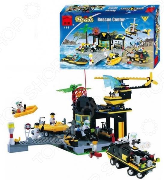 Конструктор игровой Brick Rescue Center