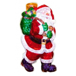 Купить Декорация рождественская Star Trading Санта с подарками