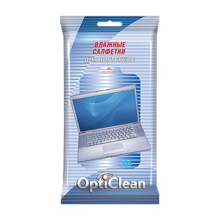 Купить Салфетки влажные Opti Clean для ноутбуков
