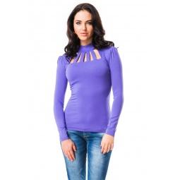 фото Водолазка Mondigo 417. Цвет: ярко-сиреневый. Размер одежды: 44